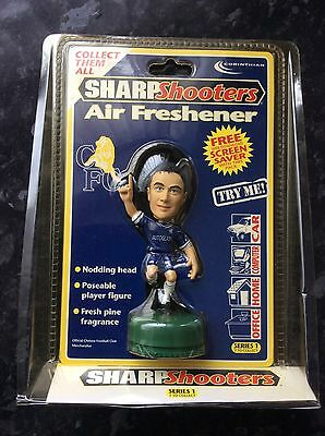 CHELSEA - DENNIS WISE Sharpshooters Air Freshener CORINTHIAN Nodding Head SEALED