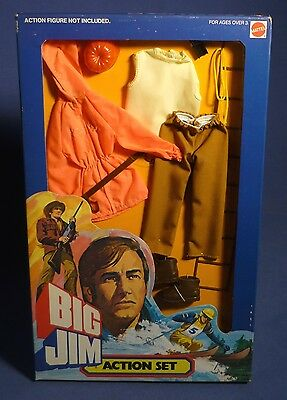 BIG JIM 9490 Action Set Mountain Rescue Outfit Bergrettung MIB OVP MATTEL F173