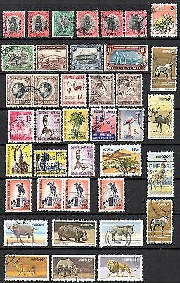 SOUTH WEST AFRICA – Small used collection