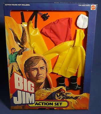 BIG JIM 9486 Action Set Master Mariner Matrose Outfit MIB OVP NOS MATTEL F173