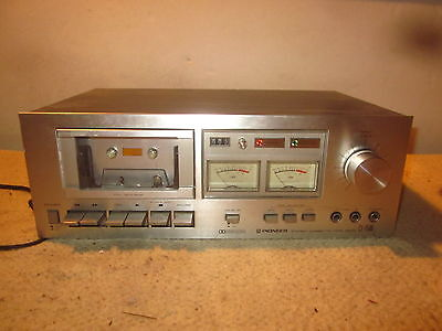 Vintage Pioneer Cassette Tape Deck Player Recorder CT-F500 Stereo Dolby System