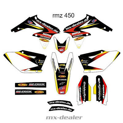 MX Dealer Dekor Dekorkit Bike Graphic Suzuki RMZ 450 2008- 2017