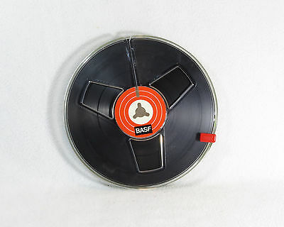 Reel To Reel 1/4 Inch Tape Spool With Tape - BASF - 5.75 Inch Spool