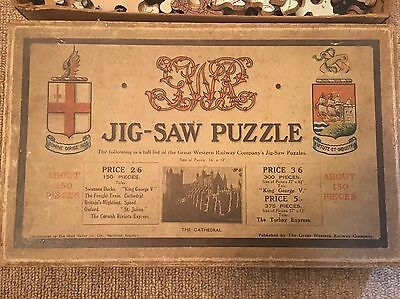 The Great Western Railway GWR Jig-Saw Puzzle Cathedral
