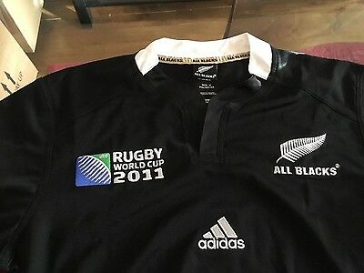 Rugby World Cup New Zealand All Blacks Jersey