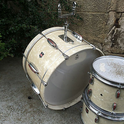 Vintage IMPERIAL Drums, made in Switzerland ohne Ludwig Rogers Gretsch Hayman