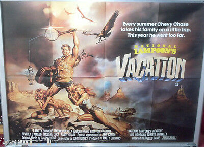 Cinema Poster: NATIONAL LAMPOON'S VACATION 1983 (Quad) Chevy Chase Imogene Coca
