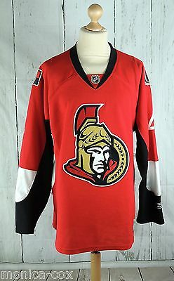 Men's Ottawa Senators Ice Hockey Jersey - Number 4 Stammers - Xl Size