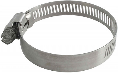 LDR 610 6372 4-1/8-Inch to 5-Inch Adjustable Stainless Steel Hose Clamp