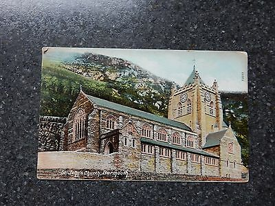 1907 fr Wrench postcard- St John's Church - Barmouth - Merionethshire - Wales