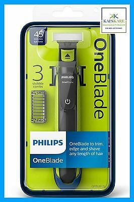 Philips OneBlade QP2520/30 Shaver - 3 Combs - Brand New & Sealed FAST FREE POST
