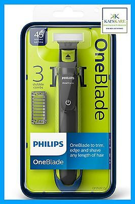 Philips OneBlade QP2520 Shaver - 3 Combs - Brand New & Sealed FAST FREE POST