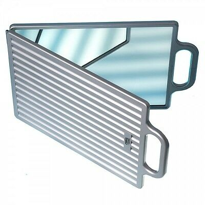 Silver Hair Tools Salon Double Folding Back Mirror