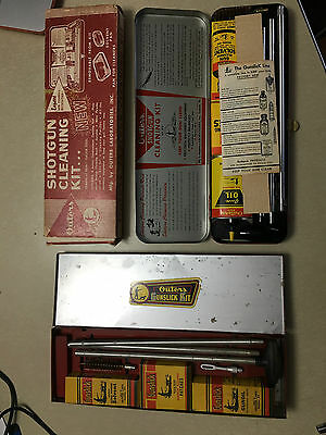 Vintage Gun Cleaning Kits