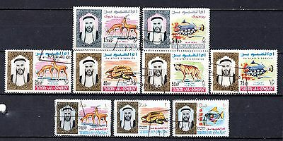 Middle east Al Oiwain nice used collection ,stamps as per scan(2395)