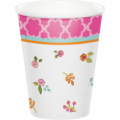 Tea Time Party Cups (8)
