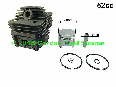 New Universal Cylinder & Piston Kit 52Cc Cg520 Fit Various Strimmer Brush Cutter