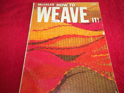 McCall's How to Weave It Pattern Book 1973