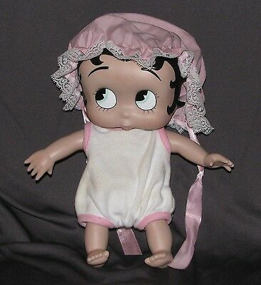 "9"" Baby Betty Boop - Signed Syd Hap - Porcelain - Posable Head And Limbs"