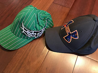 YOUTH baseball caps hats FOX and Under Armour OSFM youth sized