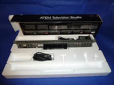 ATEM Television Studio production switcher by BlackMagin Design - IN BOX!