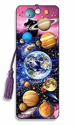 3D Bookmark - Outer Space