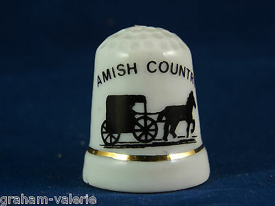 Collectable Thimble Amish Country