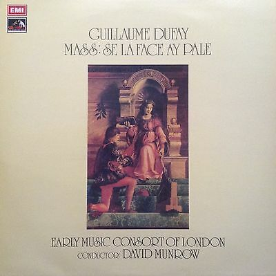 Guillaume Dufay Mass. Early Music Consort David Munrow CSD 3751