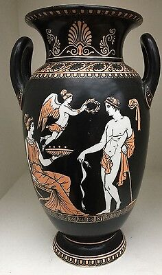 Rare Wt Copeland Vase. Olympians After The Antique