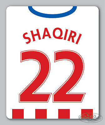 STOKE themed MOUSEMAT - mouse mat pad PERSONALISED 16/17 city football kit style