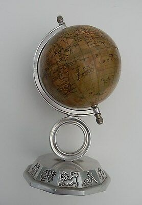 Vintage German Art Deco 12 Cm.Globe Marked 1937,Hard Alloy Base