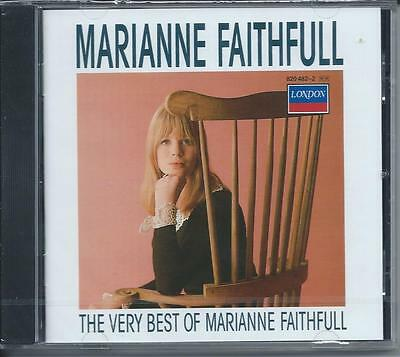 Marianne Faithfull - The Very Best Of...Greatest Hits (CD 1987) NEW/SEALED