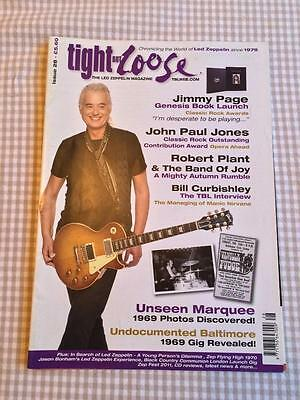 Led Zeppelin fanzine / magazine  Tight But Loose Issue 28