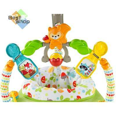 Fisher-Price Woodland Friends SpaceSaver Jumperoo - ORIGINAL Top Quality - New