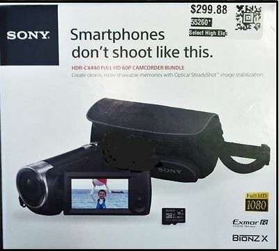 Sony HDR-CX440 Camcorder Bundle