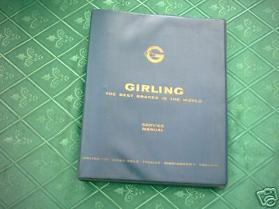 Girling Brakes Original  Manual Lotus,rover,aston Martin,berkeley,jaguar On C/d.