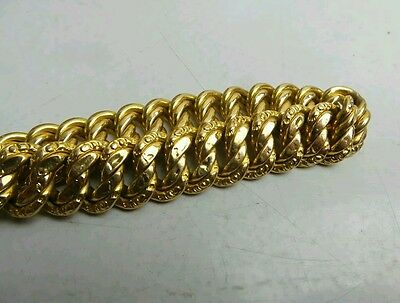 bracelet or maille americaine