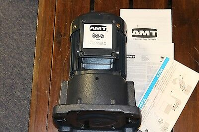 "AMT Cast Iron Oil Suction Coolant Pump 1/2 HP 3 Phase 230v / 460V AC 3/4"" NPT"
