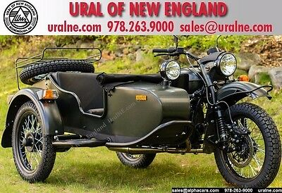 2017 Ural Gear Up 2WD Forest Fog Custom  Updated Model Loaded 2WD Reverse Gear Financing & Trades