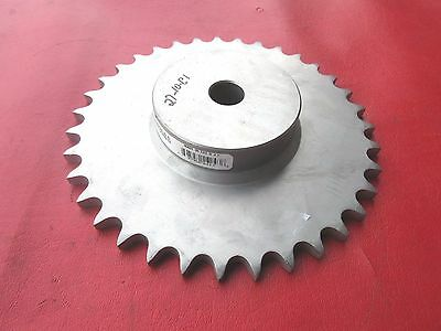 "Martin 50B35SS  3/4"" Bore, 50 Chain 35 Teeth, Stainless Steel, No Keyway"