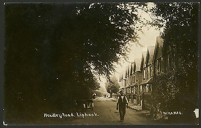 Hampshire. Liphook. Headley Road. An Interesting Vintage Real Photo Postcard