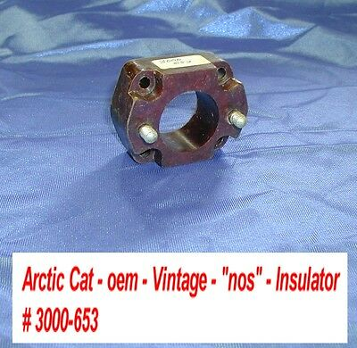 Arctic Cat Carburetor Insulator 3000 653 Vintage 1972 Ext 250