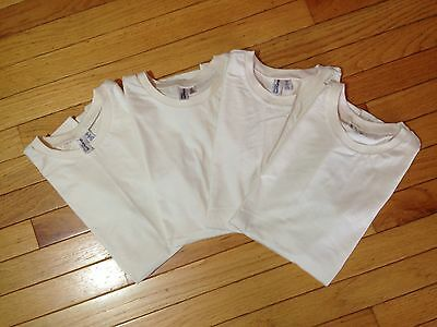 Organic 100% Cotton Natural Color T-shirts Lot of 4 sz S by District Thread NWOT