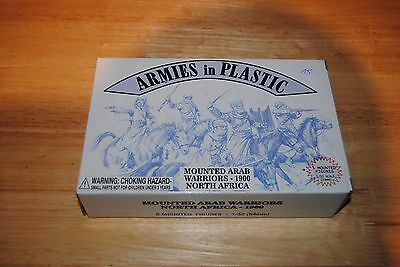 armies in plastic 1/32 eme mounted arab warriors 1900 north africa