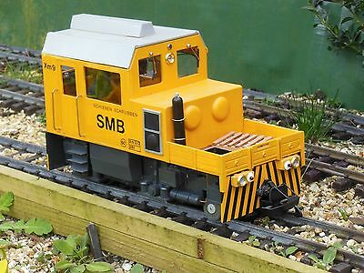 G gauge 45mm Xm 2/2 Track Cleaning Locomotive Scratch built  LGB and Piko parts.