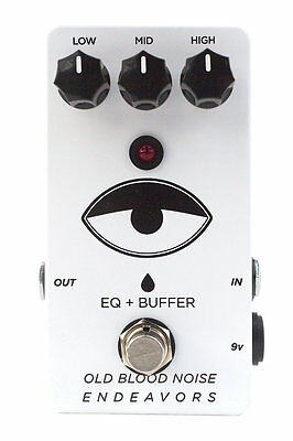 Old Blood Noise Endeavors EQ Buffer Pedal - Authorized Dealer! Brand New!