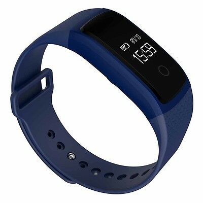 A09 Bluetooth NFC Wireless HD Heart Rate Smart Watch For Android IOS BU