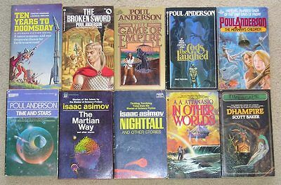 Choice of any 3 Science Fiction/Fantasy paperbacks for $5 - Lot #6