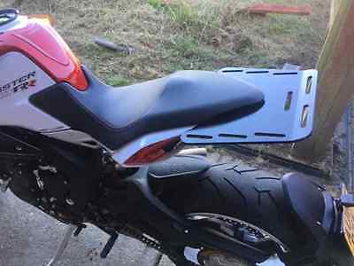 Mv Agusta Brutale Dragster 800 Rr Aluminium Rear Luggage Rack Bolt-On No Mods