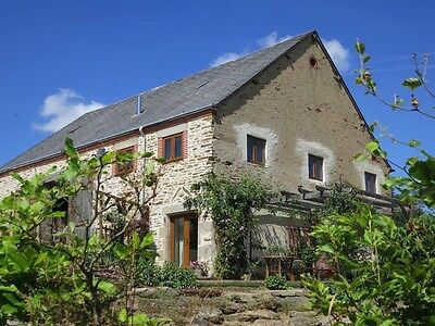 Self-Catering Holiday Gite Cottage in Loire Valley, France - Pool -  WIFI  -JULY